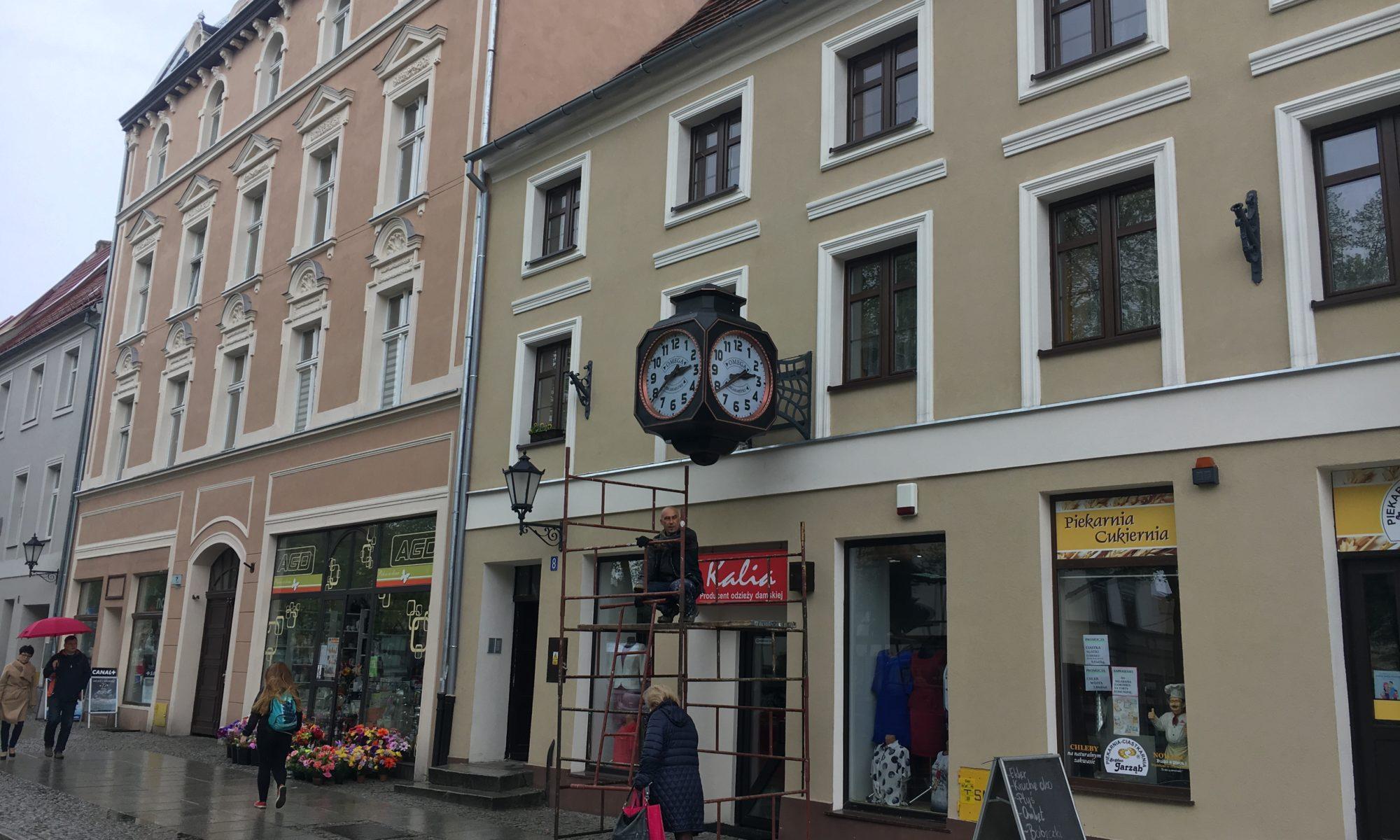 elektryczne zegary miejskie-naprawa