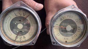 renovation of old car meters