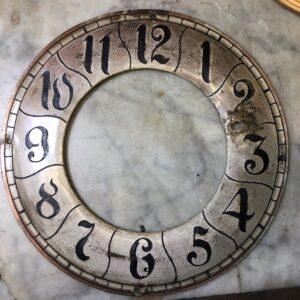 naprawa tarczy zegara