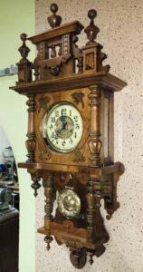 renowacja starego zegara
